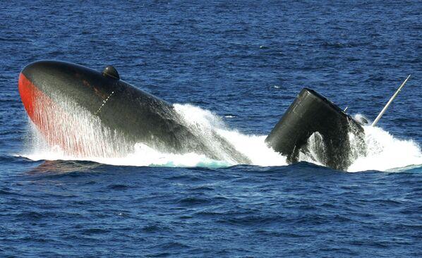 Japonská ponorka Jucio  - Sputnik Česká republika
