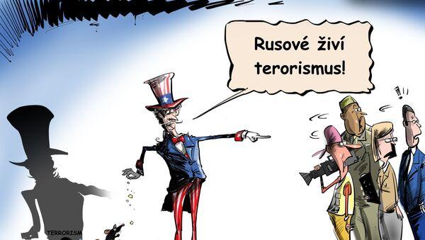 Rusové živí terorismus - Sputnik Česká republika