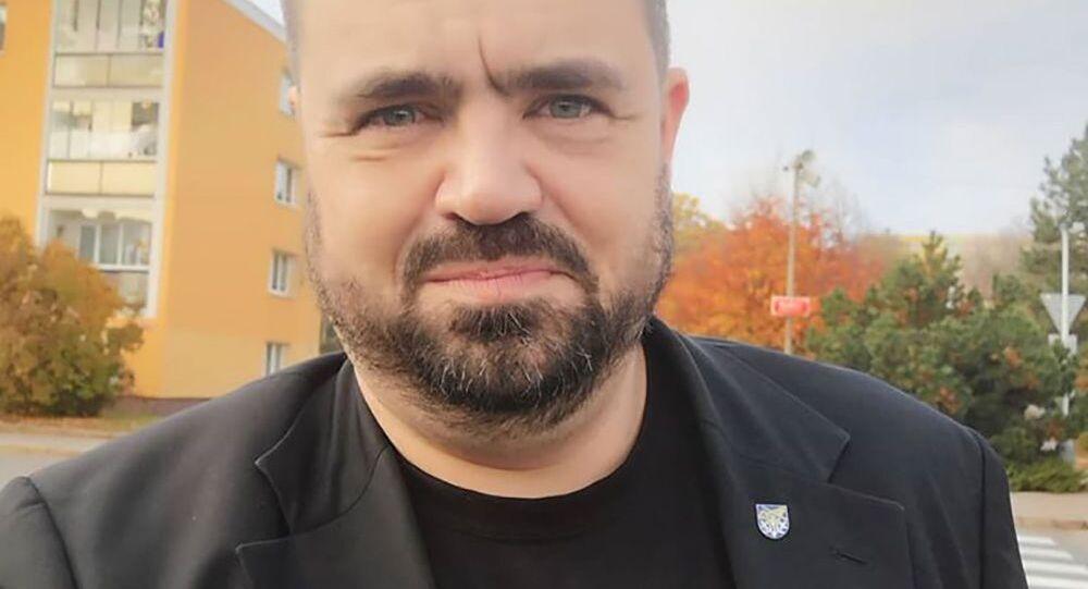Starosta městské části Praha-Řeporyje Pavel Novotný
