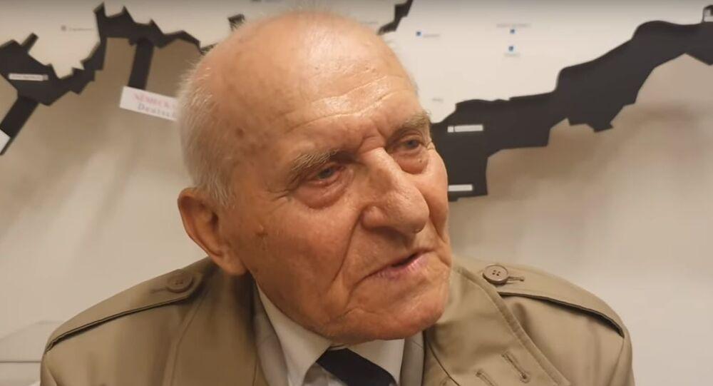 Emil Šneberg, účastník Pražského povstání 1945