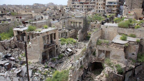 Situace v Sýrii, Aleppo - Sputnik Česká republika