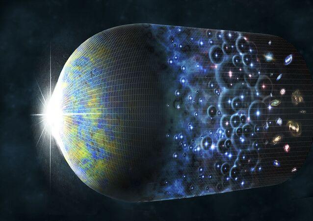 Velký třesk a zrod vesmíru