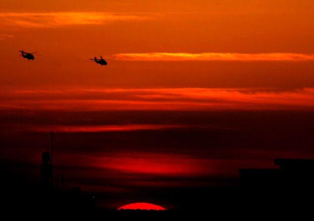 Americké vrtulníky UH-60M Black Hawk