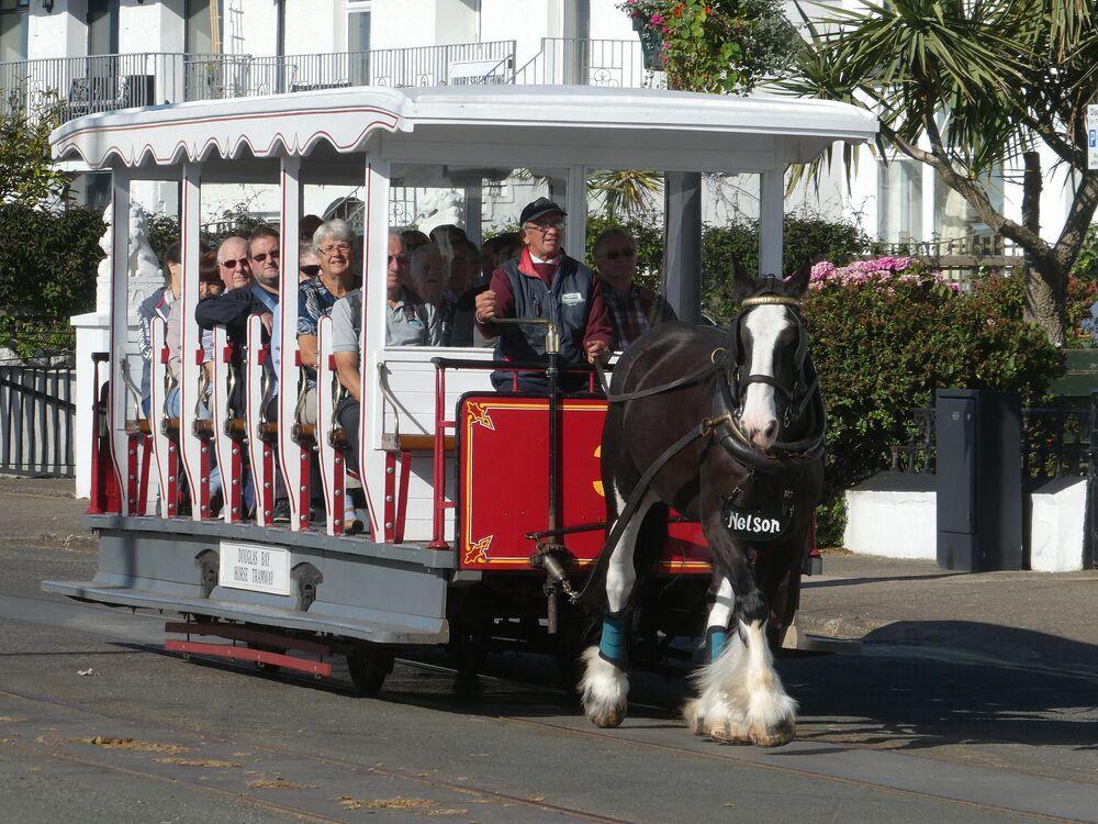 Koněspřežná tramvaj na ostrově Man