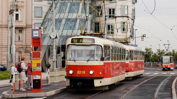 Tramvaj v Praze - Sputnik Česká republika