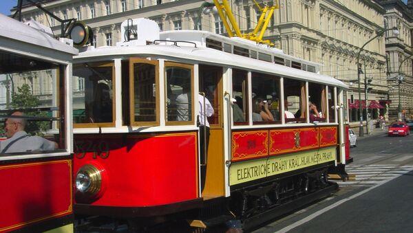 Stará tramvaj v Praze - Sputnik Česká republika