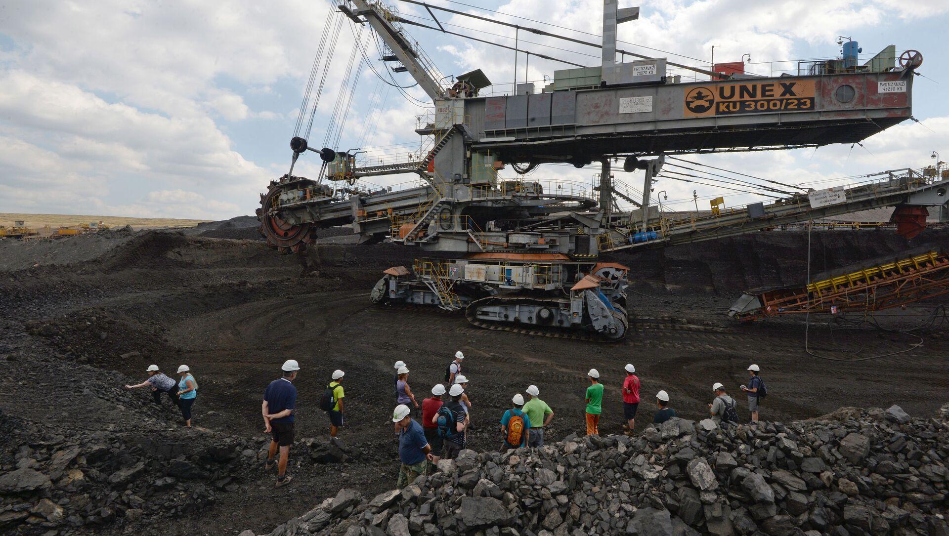 Uhelný důl v České republice - Sputnik Česká republika, 1920, 05.02.2021