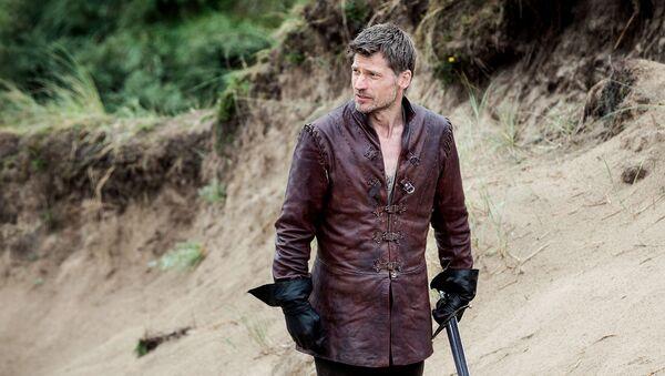 Postava Her o trůny Jaime Lannister, kterou ztvárnil dánský herec Nikolaj Coster-Waldau - Sputnik Česká republika
