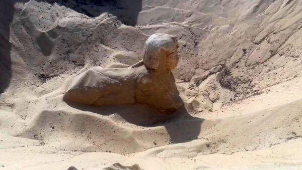 Новая археологическая находка в некрополе Tunah Al Jabal в Египте - Sputnik Česká republika