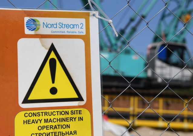 Stavba plynovodu Nord Stream 2
