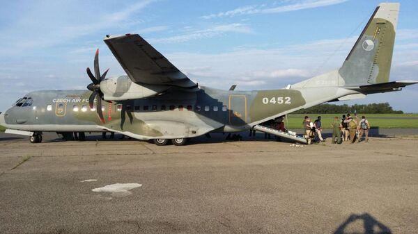 Самолет армии Чешской Республики CASA C-295MW - Sputnik Česká republika