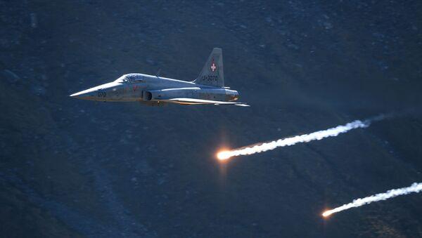 F-5 švýcarského letectva - Sputnik Česká republika