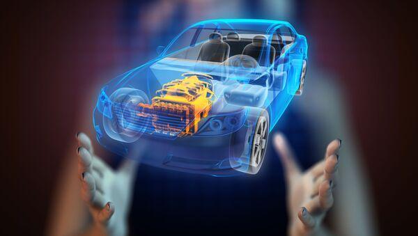 Hologram auta - Sputnik Česká republika