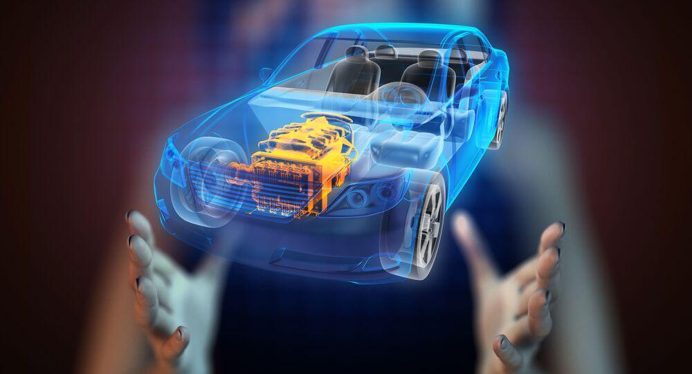 Hologram auta