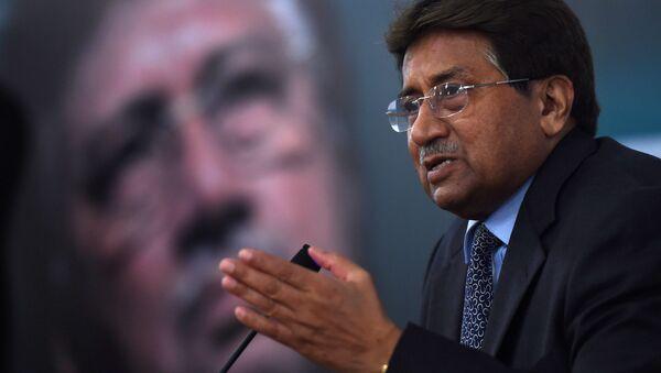 Bývalý pákistánský prezident Parvíz Mušaraf  - Sputnik Česká republika