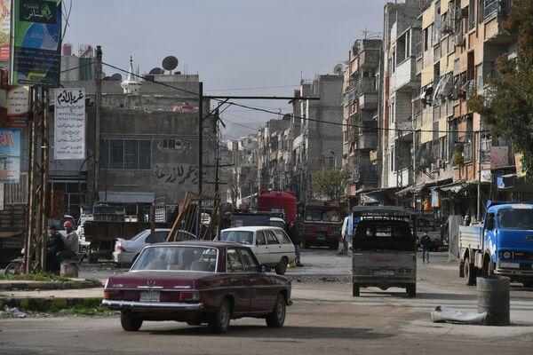 Centrum města Dúmá, Sýrie - Sputnik Česká republika