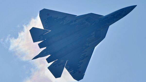 Stíhačka Su-57 - Sputnik Česká republika
