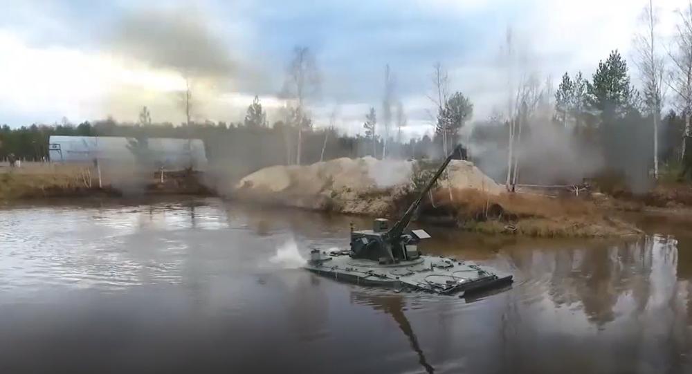 Vynikající záběry. Nejnovější ruský protiletadlový dělostřelecký systém Derivacija poprvé odhalil své schopnosti