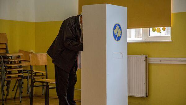 Volby v Kosovu - Sputnik Česká republika