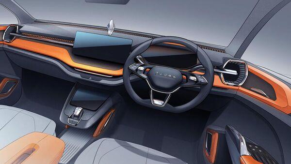 Koncept Škoda Vision In - Sputnik Česká republika