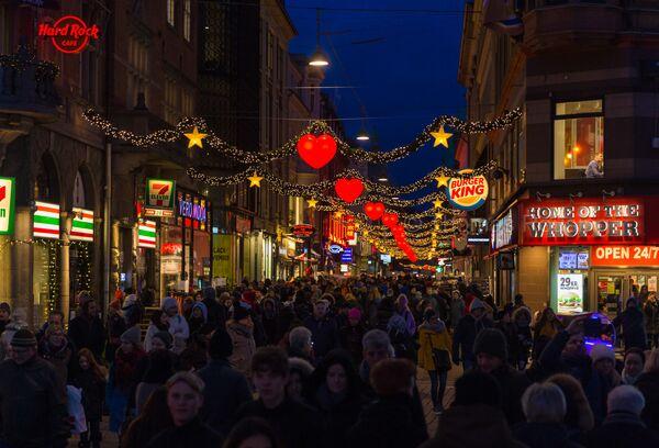 Ulice v Kodani - Sputnik Česká republika