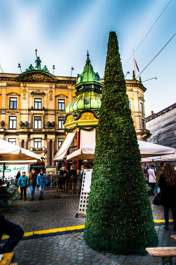Vánoční jarmark v Kodani - Sputnik Česká republika