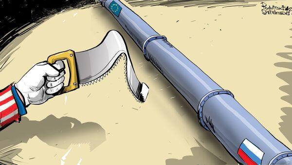 V USA uznali, že sankce nepozastaví Nord Stream 2  - Sputnik Česká republika