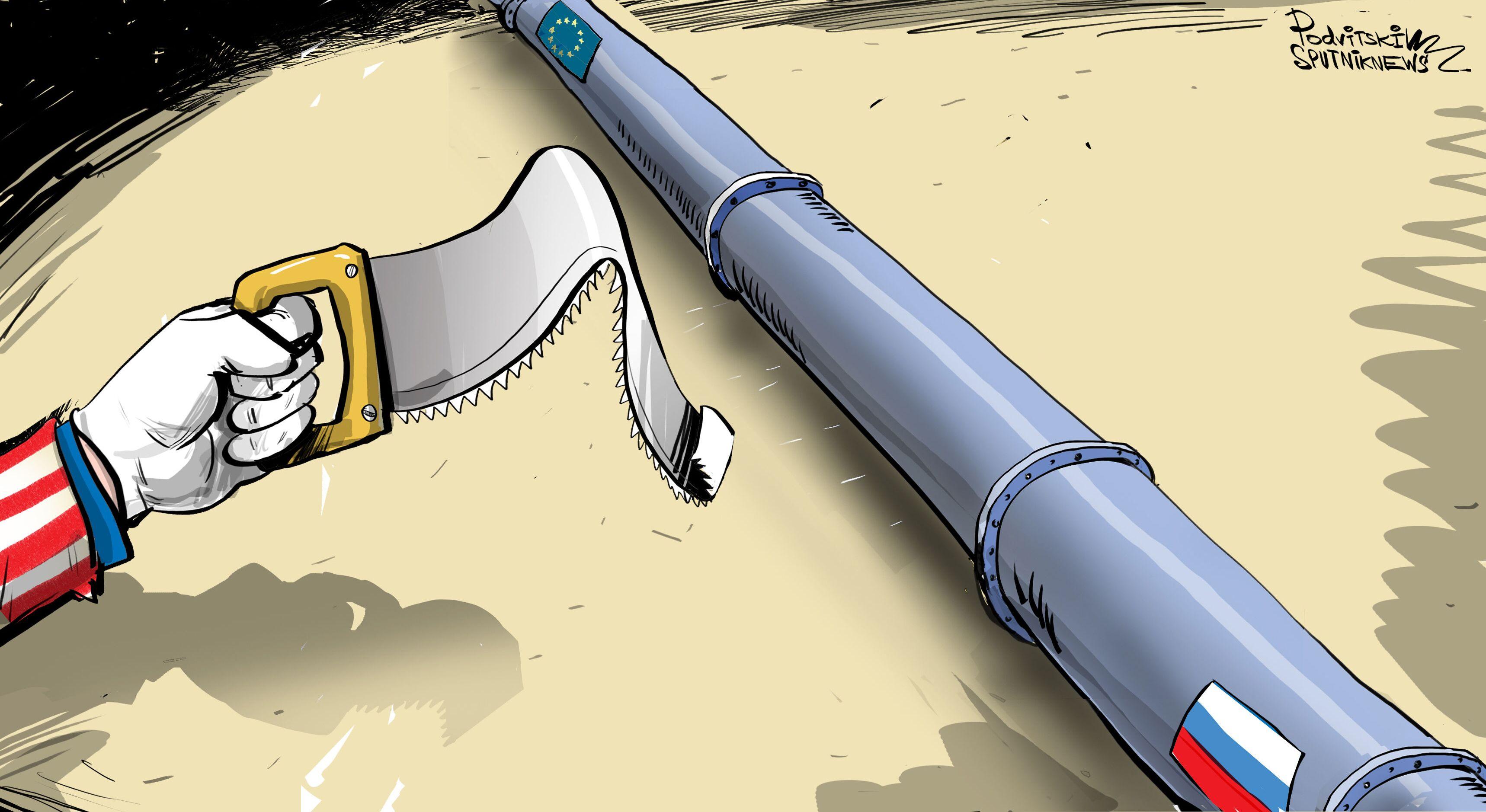 V USA uznali, že sankce nepozastaví Nord Stream 2.