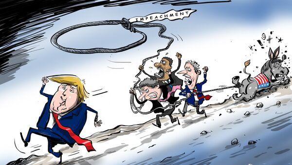 Politická sebevražda amerických demokratů - Sputnik Česká republika