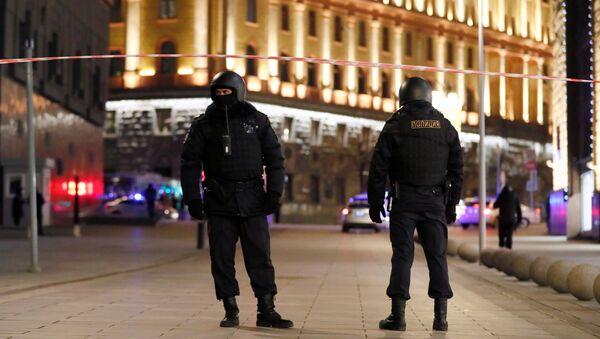 Policie u budovy FSB v Moskvě - Sputnik Česká republika