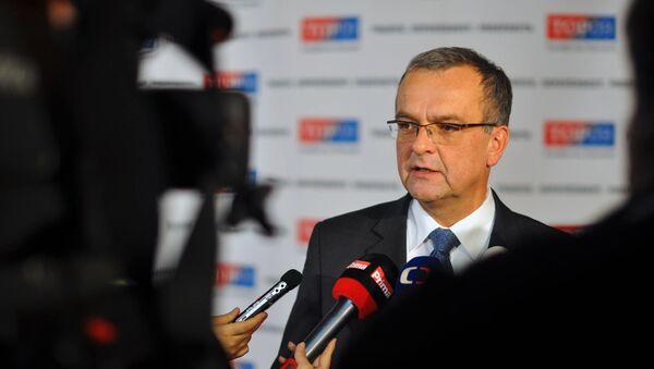 Šéf poslaneckého klubu TOP 09 Miroslav Kalousek - Sputnik Česká republika