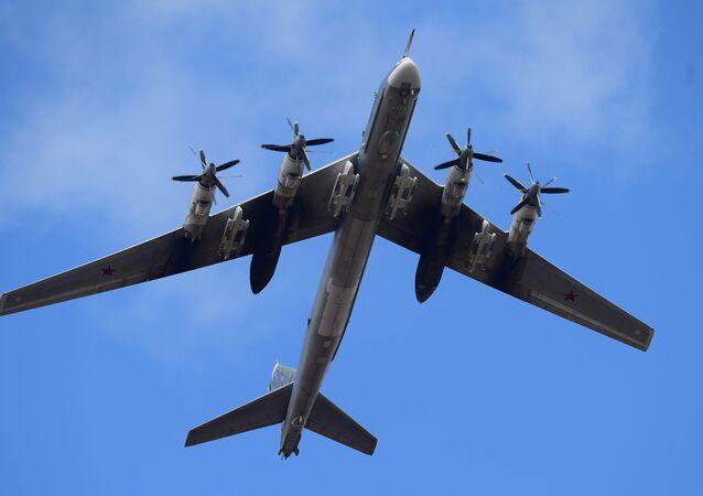 Strategický bombardér Tu-95MC