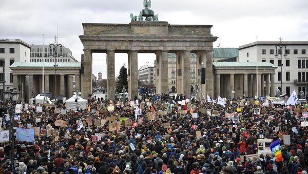Akce Fridays For Future v Berlině - Sputnik Česká republika