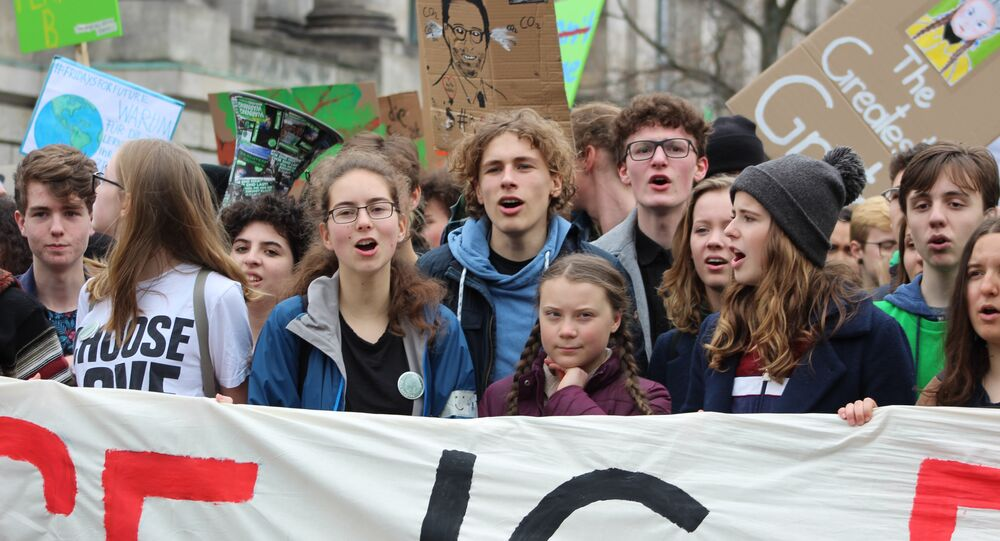 "Greta a ""Fridays for Future"". Demonstrace v Berlíně"