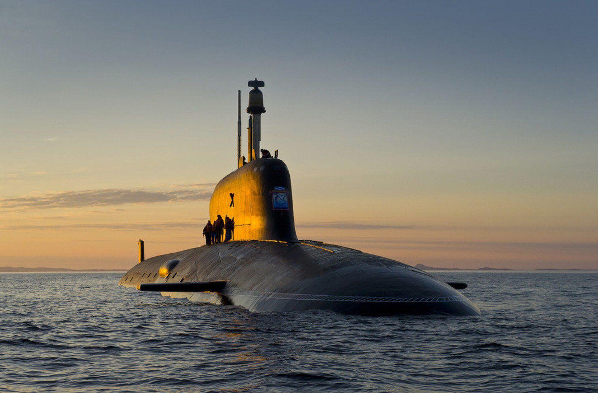 Ponorka projektu Jaseň-M - Sputnik Česká republika, 1920, 20.04.2021