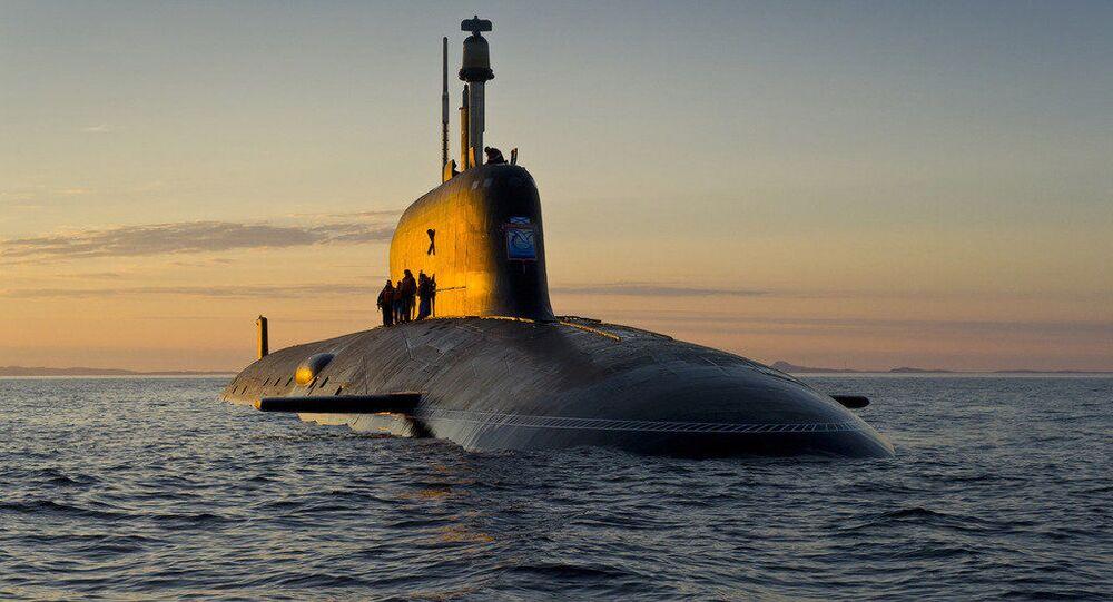 Ponorka projektu Jaseň-M