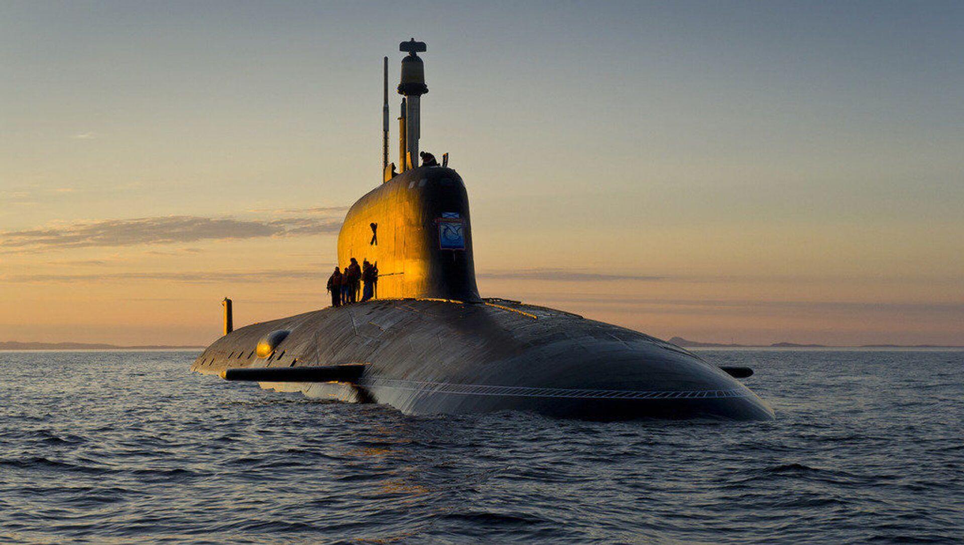 Ponorka projektu Jaseň-M - Sputnik Česká republika, 1920, 13.02.2021