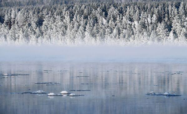Řeka Jenisej v Krasnojarském kraji - Sputnik Česká republika