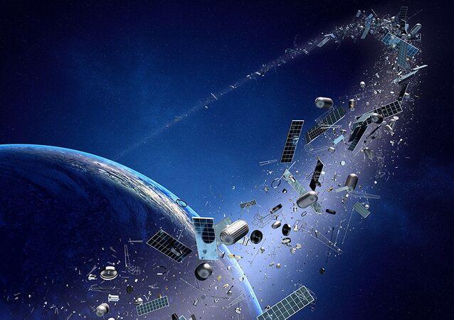 Vesmírný odpad