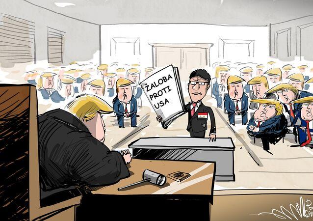 Damašek zažaluje USA