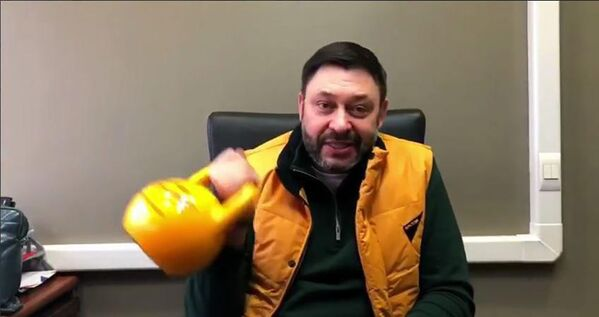 Kirill Vyšinský, výkonný ředitel MIA Rossia Segodnia, během akce #SputnikSíla - Sputnik Česká republika