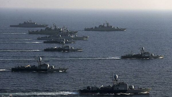 Cvičení íránského námořnictva - Sputnik Česká republika