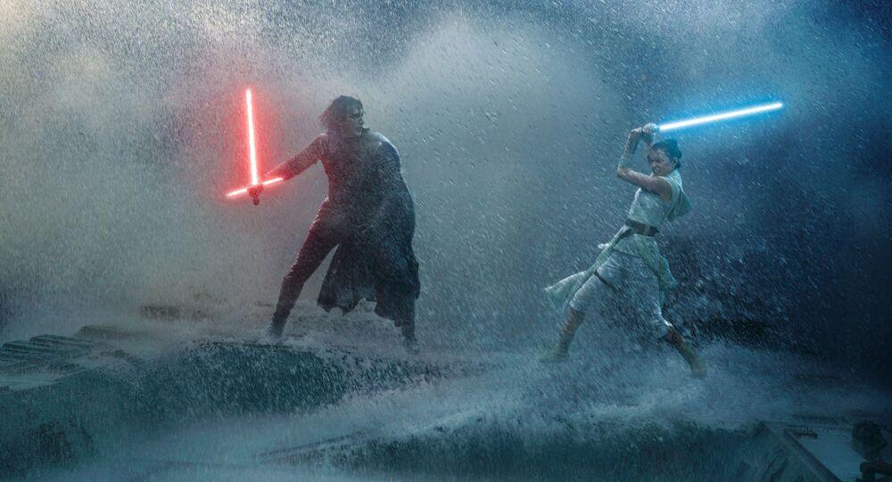 Scéna z filmu Hvězdné války: Vzestup Skywalkera