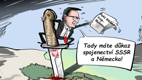 Polský premiér by si měl zopakovat dějepis - Sputnik Česká republika