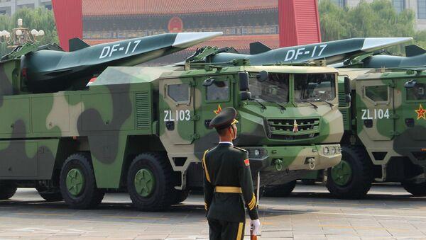 Čínská raketa DF-17 - Sputnik Česká republika