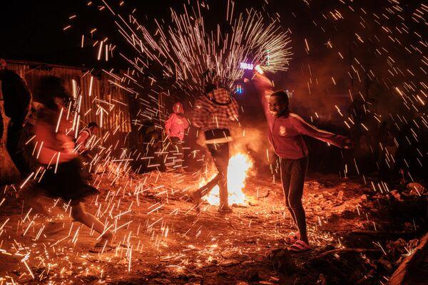 Silvestrovské oslavy v Nairobi - Sputnik Česká republika