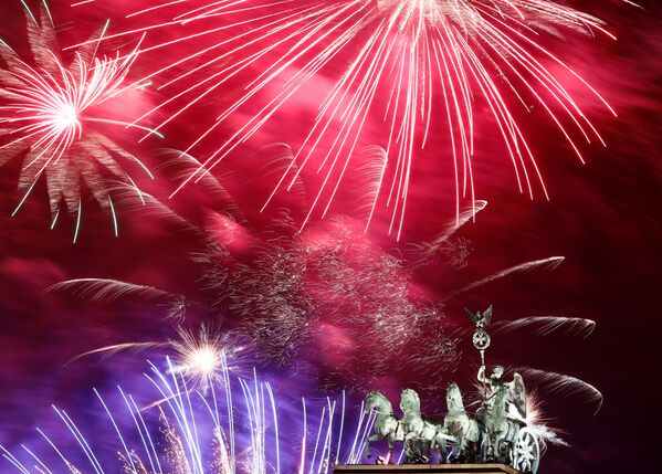 Pozdrav na počest Nového roku 2020 v Berlíně - Sputnik Česká republika