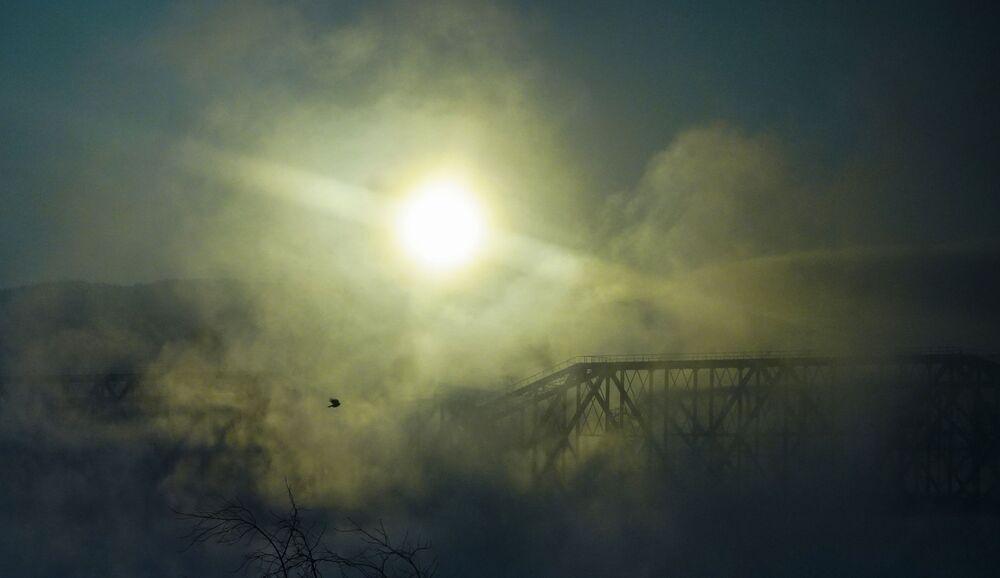 Most přes Jenisej
