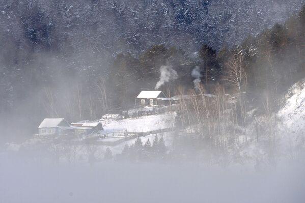 Dům na břehu Jeniseje  - Sputnik Česká republika
