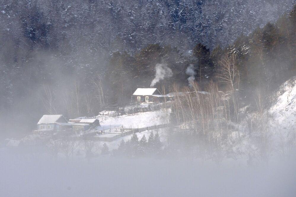 Dům na břehu Jeniseje